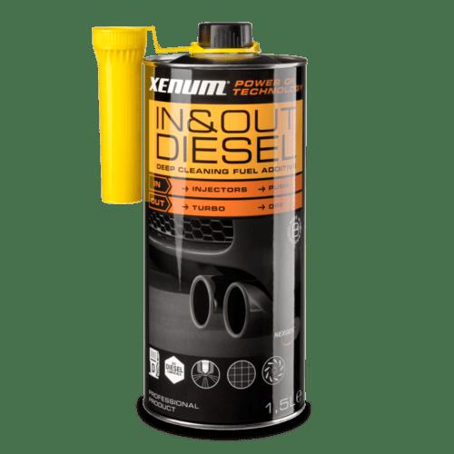 Присадка для чистки впускної і випускної систем дизельного двигуна XENUM IN & OUT CLEANER DIESEL 1.5 л 1