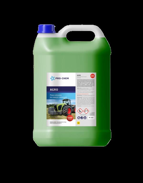 AGRO - Активна піна для миття сільськогосподарської техніки 1