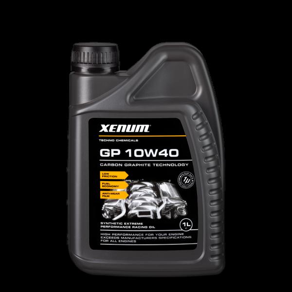 GP 10W40 - Напівсинтетичне моторне мастило з графітом 1
