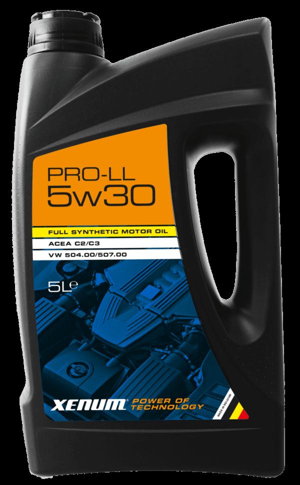 PRO-LL 5W30 - Синтетичне енергозберігаюче моторне мастило 2