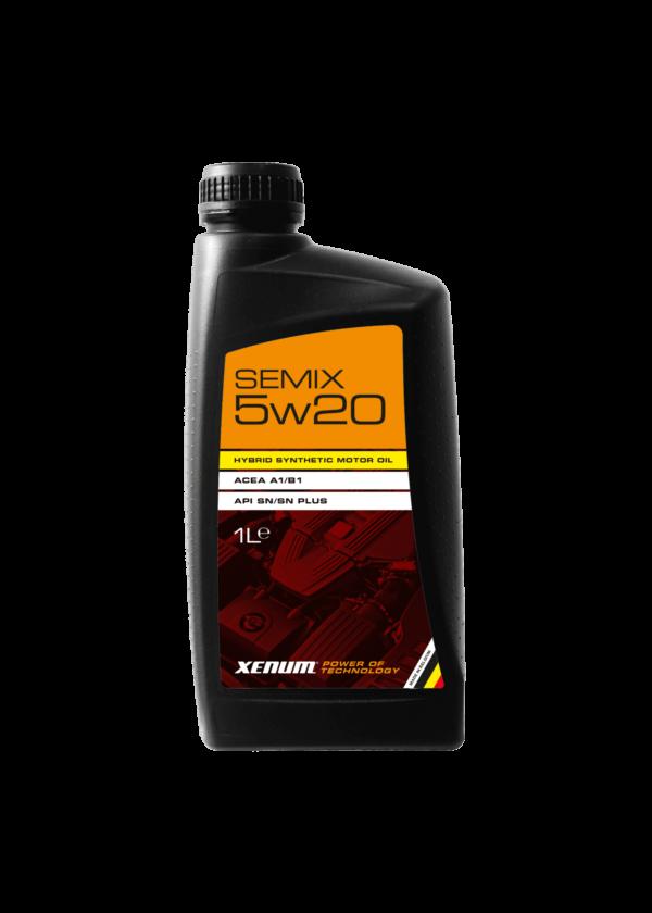 Моторна олива для двигунів з турбонаддувом XENUM SEMIX 5W20 5 л 1