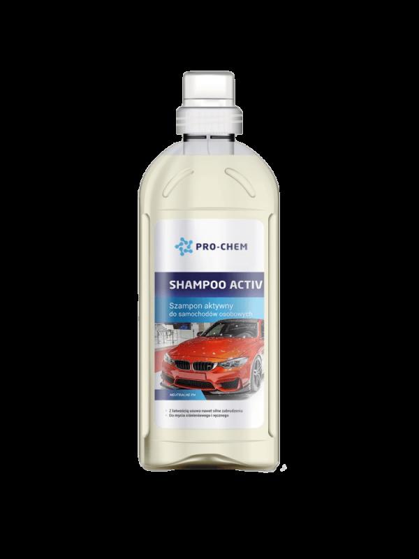 SHAMPOO ACTIV - Активний автомобільний шампунь 1