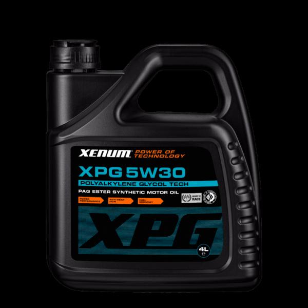 XPG 5W30 - Поліалкіленгліколеве синтетичне моторне мастило 2