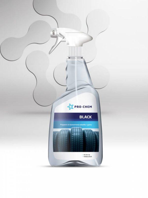 BLACK - Засіб для збереження та консервації пластику та гуми 2