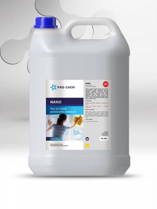 NANO - Рідина для миття скляних поверхонь 2
