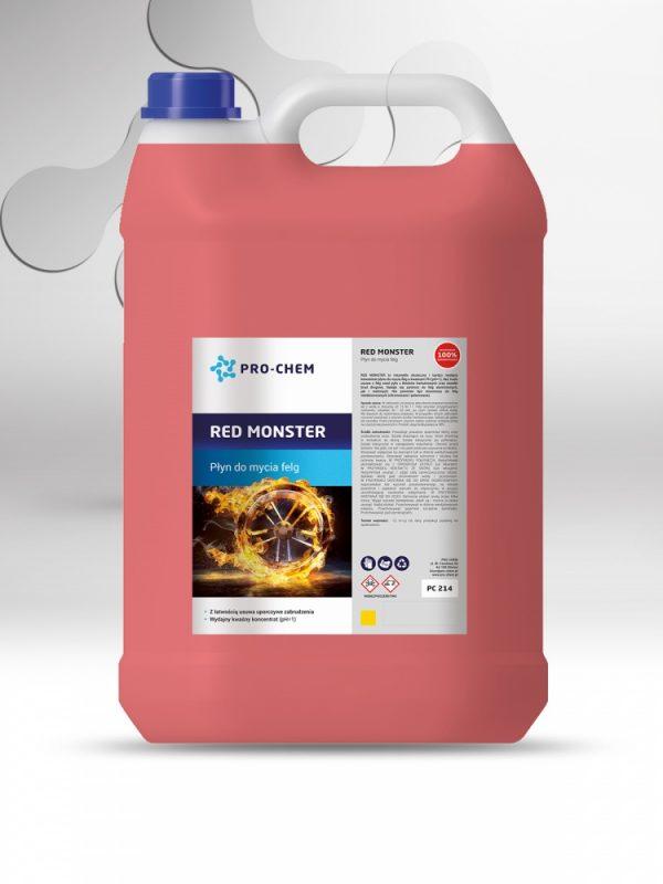 RED MONSTER - Рідина для миття дисків 3