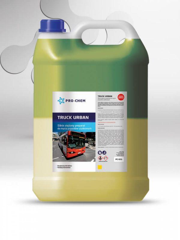 TRUCK URBAN - Висококонцентрований засіб для очищення вантажних автомобілів 2