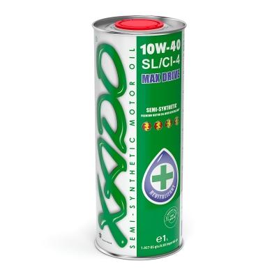 Напівсинтетичне моторне масло XADO Atomic Oil 10W-40 SL/CI-4 4 л 1