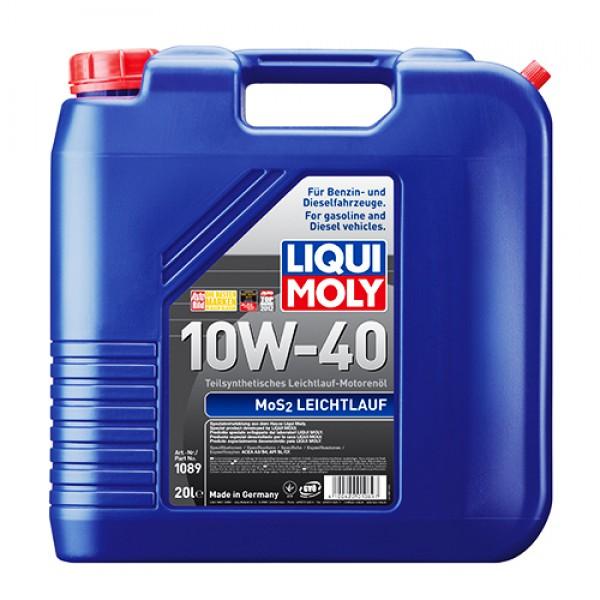 Напівсинтетичне моторне масло - MoS2 Leichtlauf SAE 10W-40 20 л. 1