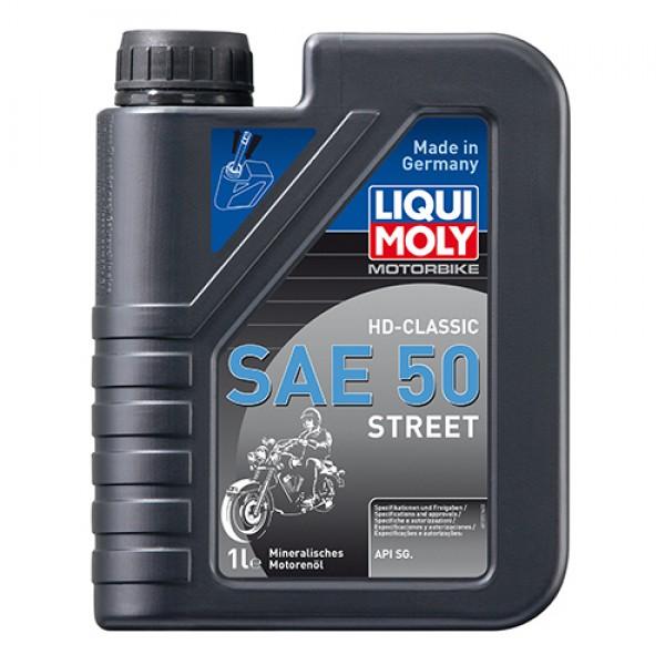 Масло для 4-тактних двигунів - Motorbike HD Classic SAE 50 Street 1 л. 1