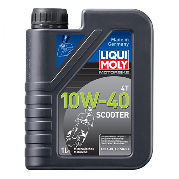 Масло для 4-тактних двигунів - Motorbike 4T 10W-40 Scooter 1 л. 1