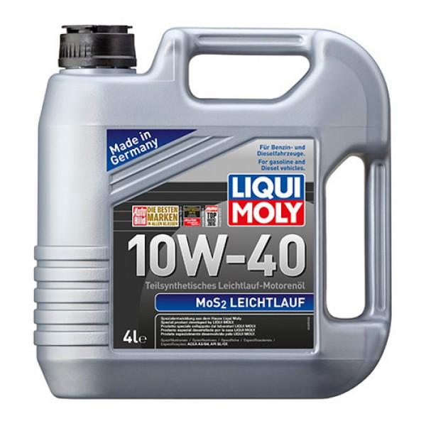 Полусинтетическое моторное масло - MoS2 Leichtlauf SAE 10W-40 4 л. 1