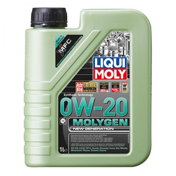 Синтетичне моторне масло - Molygen New Generation 0W-20 1 л. 1