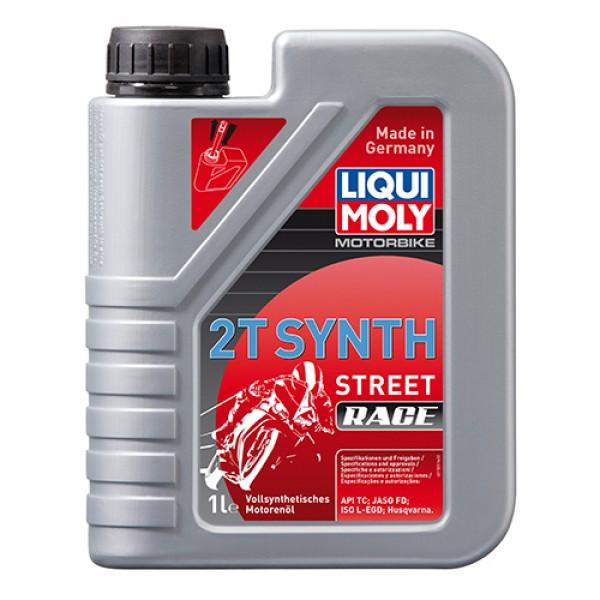 Масло для 2-тактних двигунів - Motorbike 2T Synth Street Race 1 л. 1