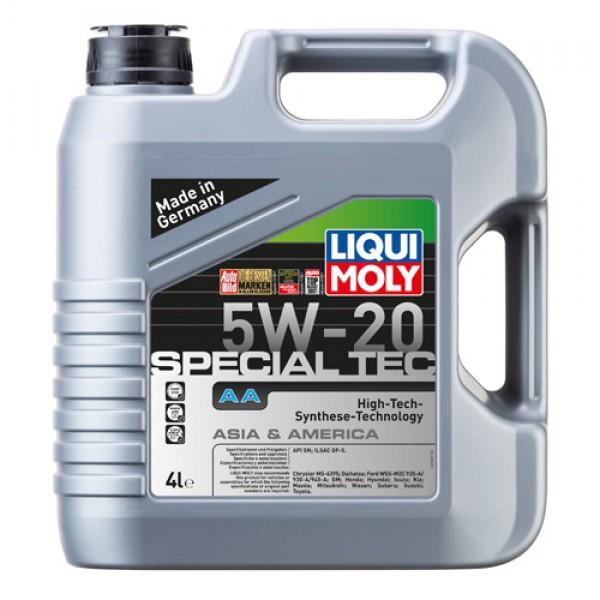 Синтетическое моторное масло - SPECIAL TEC AA 5W-20 4 л. 1
