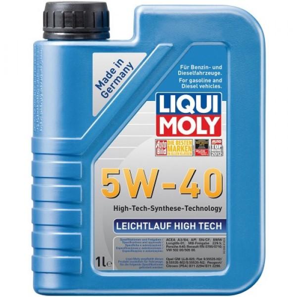 Синтетичне моторне масло - Leichtlauf High Tech 5W-40 1 л. 1