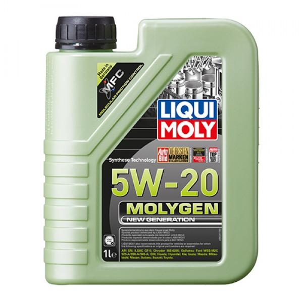 Синтетичне моторне масло - Molygen New Generation 5W-20 1 л. 1