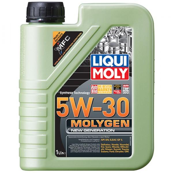 Синтетичне моторне масло - Molygen New Generation 5W-30 1 л. 1