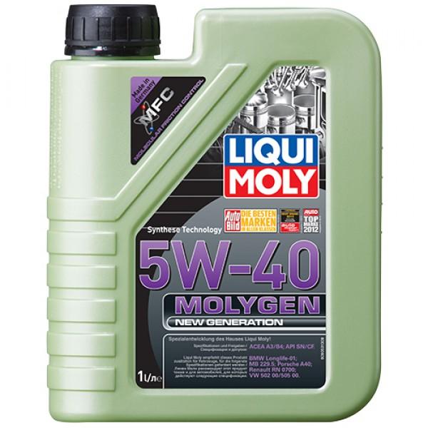 Синтетичне моторне масло - Molygen New Generation 5W-40 1 л. 1