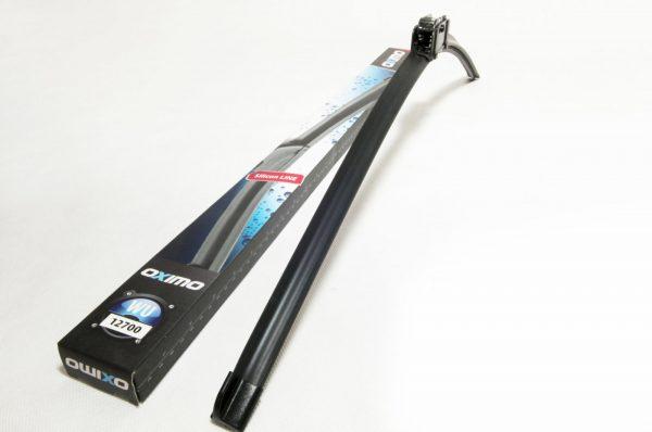 Щітка склоочисника безкаркасна 700 mm (защіпка 12 mm) OXIMO WU12700 1