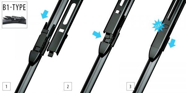 Щітки склоочисника Модельні комплект 2 шт OXIMO WB4004251 4