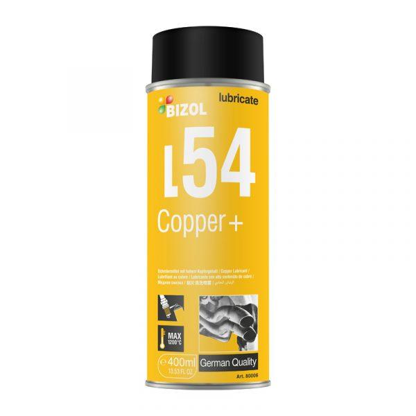 Спрей-мастило мідна - BIZOL Copper + L54 0,4л 1