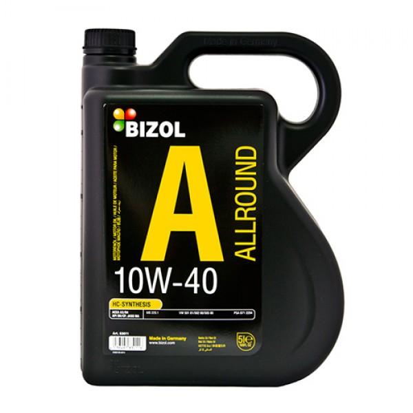 Напівсинтетичне моторне масло - BIZOL Allround 10W40 5л 1