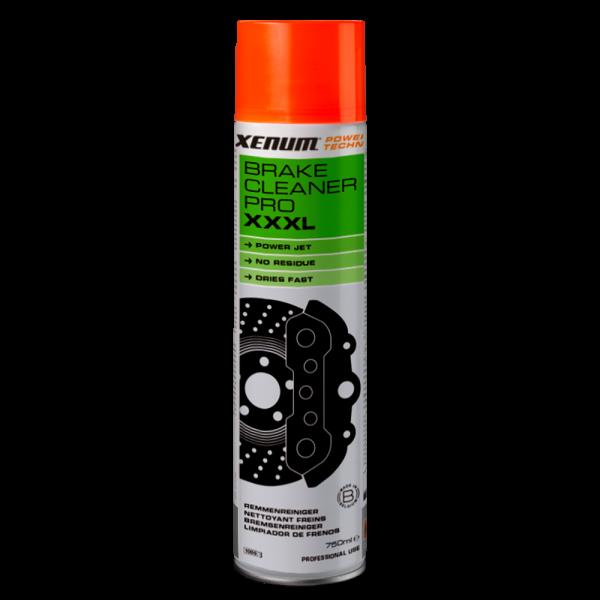 Знежирувач и очиститель деталей тормозной системы XENUM BRAKE CLEANER PRO XXXL 750 мл (4175750) 1