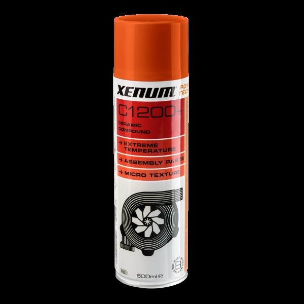 Високотемпературна аерозольна змазка з керамікою XENUM C1200+ 500 мл (4052500) 1