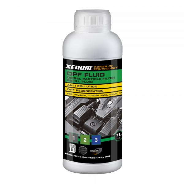 Добавка / жидкость для комплексной очистки сажевого фильтра XENUM DPF FLUID 1 л (6131001) 3