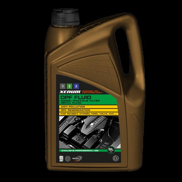 Добавка / жидкость для комплексной очистки сажевого фильтра XENUM DPF FLUID 1 л (6131001) 5
