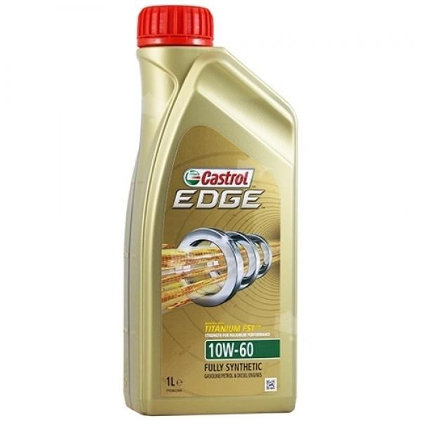 Синтетичне моторне масло EDGE 10W-60 Titanium 1 л. 1