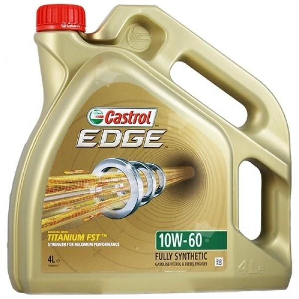 Синтетичне моторне масло EDGE 10W-60 Titanium 4 л. 1