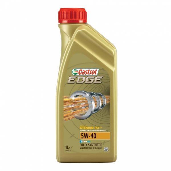 Синтетичне моторне масло EDGE 5W-40 Titanium 1 л. 1