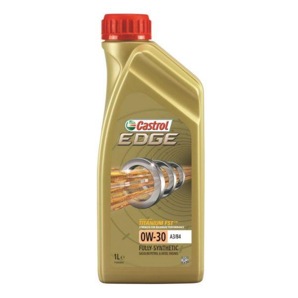 Синтетичне моторне масло EDGE 0W-30 A3 / B4 Titanium 1 л. 1