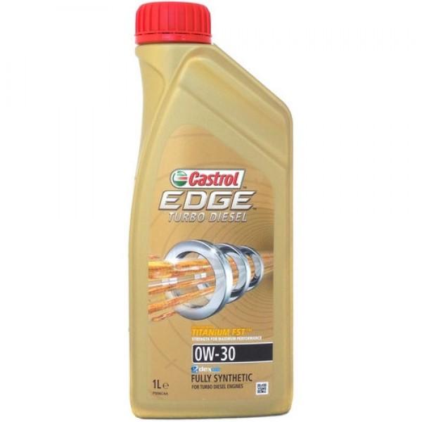 Синтетичне моторне масло EDGE TURBO DIESEL 0W-30 Titanium 1 л. 1