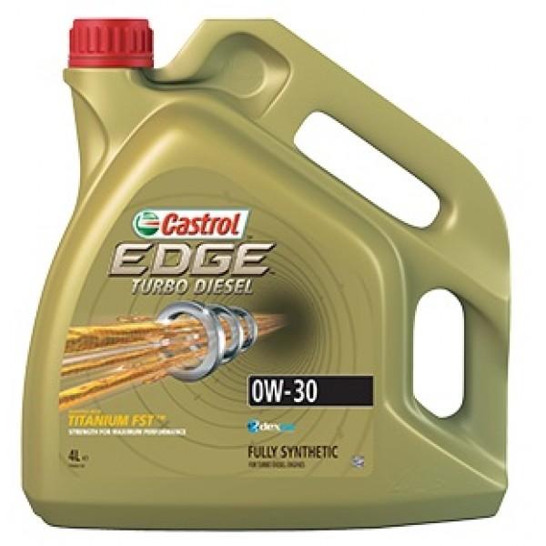 Синтетичне моторне масло EDGE TURBO DIESEL 0W-30 Titanium 4 л. 1