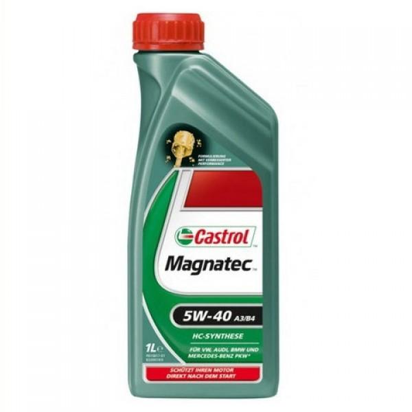 Синтетическое моторное масло Magnatec 5W-40 A3 / B4 New 1 л. 1