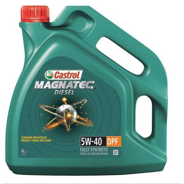 Синтетическое моторное масло Magnatec Diesel 5W-40 DPF New 4 л. 1