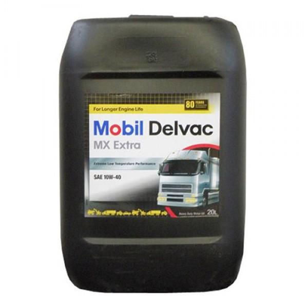 Напівсинтетичне моторне масло Mobil Delvac MX Extra 10W-40 20 л 1