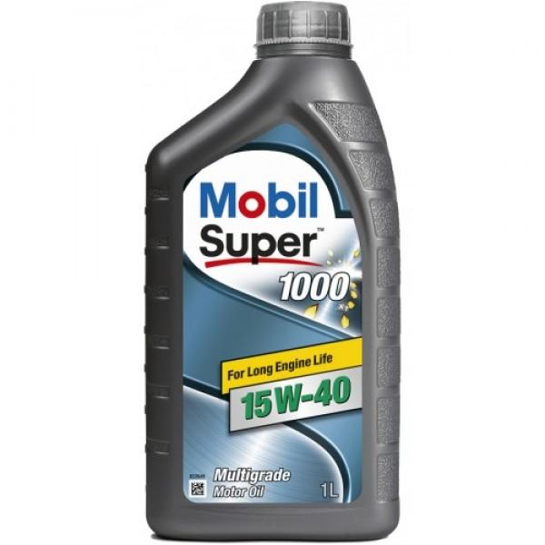 Мінеральне моторне масло Mobil Super 1000 15W-40 1 л 1