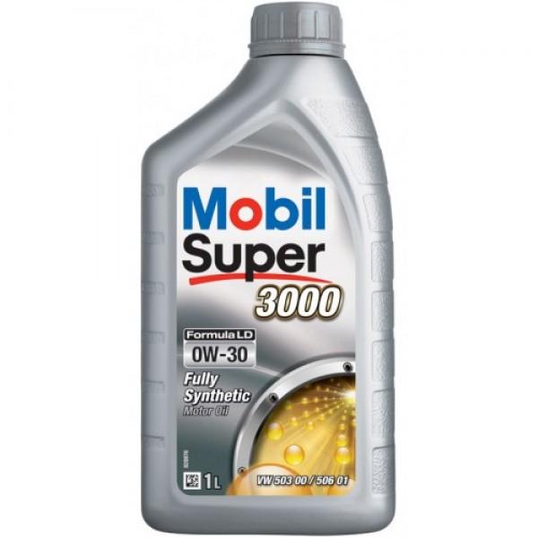 Синтетичне моторне масло Mobil Super 3000 Formula LD 0W-30 1 л 1