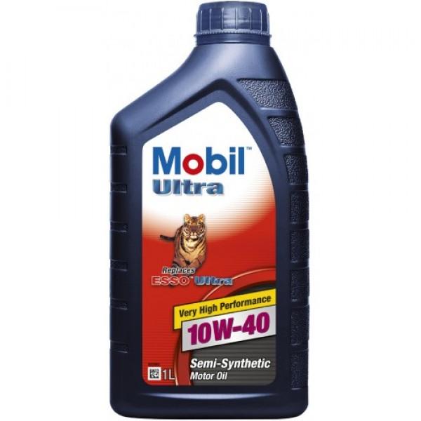 Напівсинтетичне моторне масло Mobil Ultra 10W-40 1 л 1