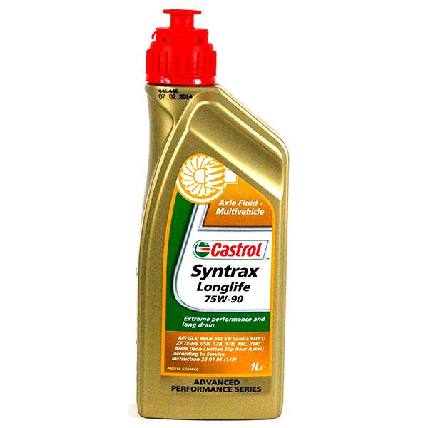 Трансмісійне масло Syntrax Longlife 75W-90 1 л. 1