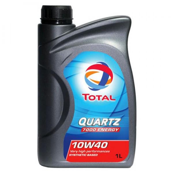 Полусинтетическое моторное масло Total Quartz 7000 Energy 10W40 1л 1