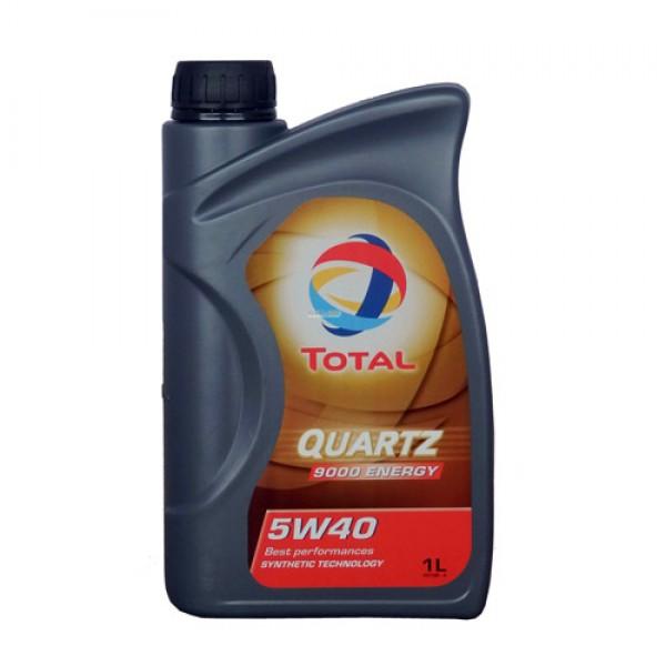 Синтетичне моторне масло Total Quartz 9000 Energy 5W40 1л 1