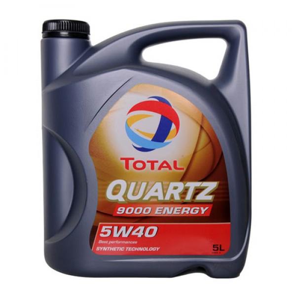 Синтетичне моторне масло Total Quartz 9000 Energy 5W40 5л 1