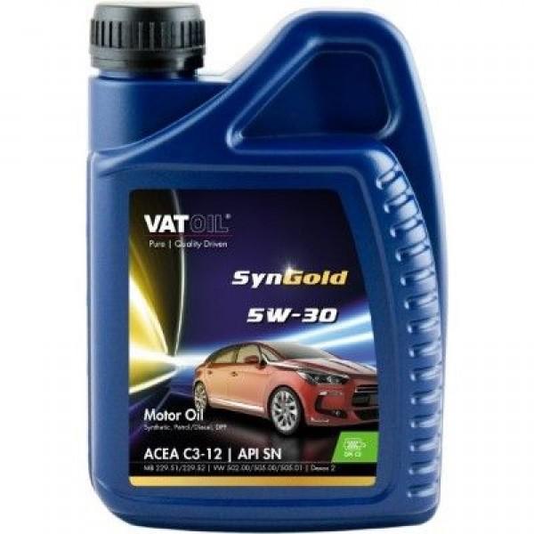 Синтетичне моторне масло VATOIL SYNGOLD 5W30 1Л 1