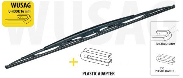 Щітка склоочисника для вантажних автомобілів та автобусів 1000 mm OXIMO WUSAG1016 7